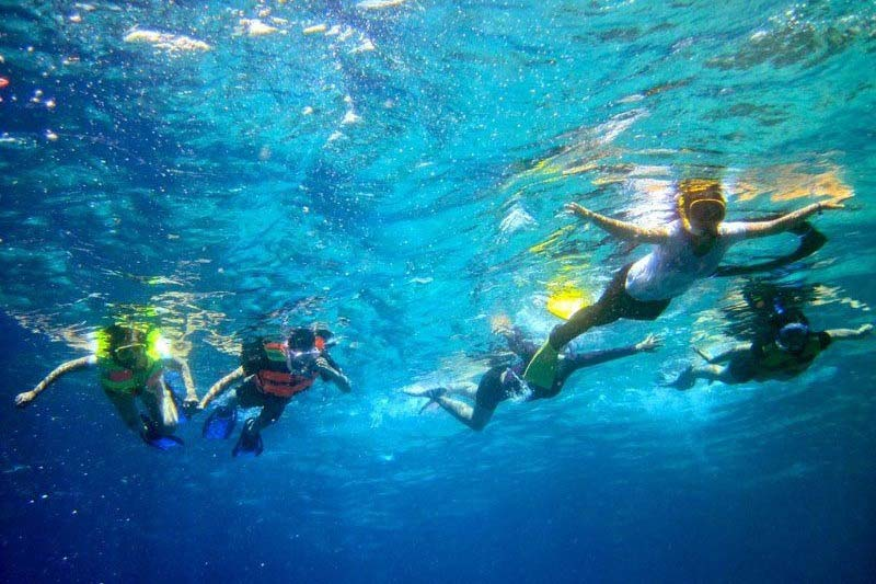 Lombok Traveling Malaysians lured to snorkel in azure blue waters