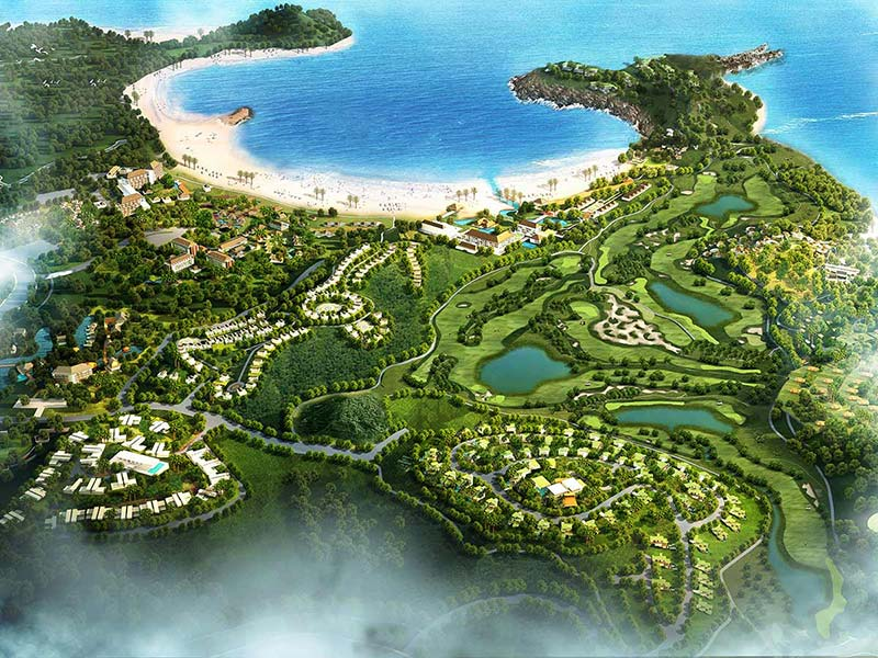 Mandalika Project Rendering Image for Mandalika Resort Ready in 2018 campaign