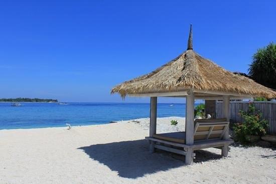 Gili Meno Beach in North Lombok Regency