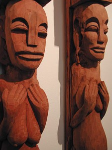 Lombok Carved Pieces