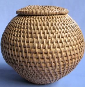 Lombok Covered Round Ball Basket