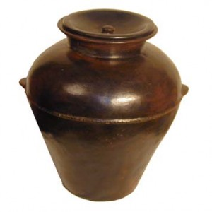 Lombok Earthenware Rice Holder