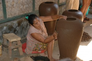 Lombok Large Hand Coiled Pot