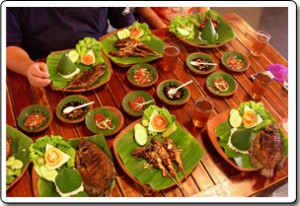 A Typical Lombok Spread