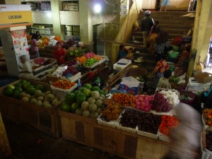 Mataram Market - Selling Fruit