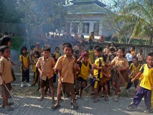 Central Lombok School Children
