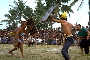 Kuta, Lombok Stick Fighting Competition.