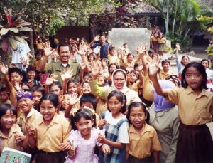 School Children Central Lombok