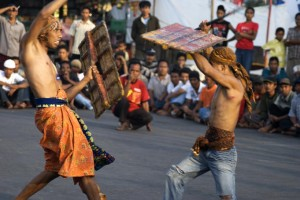 Lombok Stick Fighting Competition