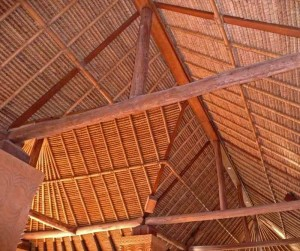 Typical Lombok Bamboo Architectural Detail