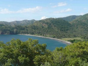 Lombok's Senggigi (One Of Many Such Bays In Area)