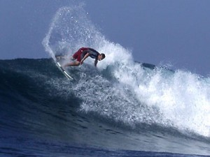 Surfing Lombok Belongas Bay