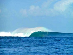 Surfing Lombok Desert Point Perfection
