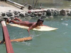 Surfing Lombok Gerupuk Harbour